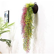 cheap -Artificial Flowers 1 Branch Wall-Mounted Rustic / Wedding Plants Tabletop Flower