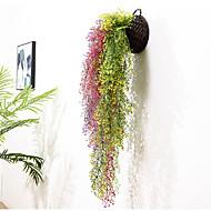 זול -פרחים מלאכותיים 1 ענף להתקנה על הקיר כפרי / חתונה צמחים פרחים לשולחן