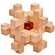 cheap Toy & Game-Magic Cube Wooden Puzzle IQ Brain Teaser Professional Level Speed Wooden 12pcs Classic & Timeless Boys' Gift