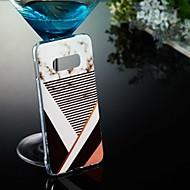 Недорогие Чехлы и кейсы для Galaxy S-Кейс для Назначение SSamsung Galaxy S9 Plus / S8 IMD / С узором Кейс на заднюю панель Мрамор Мягкий ТПУ для S9 / S9 Plus / S8 Plus