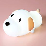 Χαμηλού Κόστους -1pc LED νύχτα φως / Νυχτικό φως νυχτών Θερμό Λευκό USB Για παιδιά / Δημιουργικό