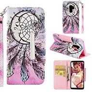 ราคาถูก -Case สำหรับ Samsung Galaxy S9 Plus / S8 Wallet / Card Holder / Shockproof ตัวกระเป๋าเต็ม จับฝัน Hard หนัง PU สำหรับ S9 / S9 Plus / S8 Plus