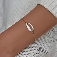 cheap -Women's Handmade Link Bracelet - Tropical Bracelet Jewelry Gold For Birthday Engagement Going out Bikini Festival