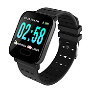 cheap -A6 Smartwatch Android iOS Bluetooth Smart Sports Waterproof Heart Rate Monitor Pedometer Sleep Tracker Sedentary Reminder Chronograph Calendar