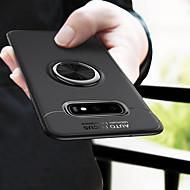 ケース 用途 Samsung Galaxy ギャラクシーS10 / Galaxy S10 E バンカーリング バックカバー ソリッド ソフト TPU のために S9 / S9 Plus / S8 Plus