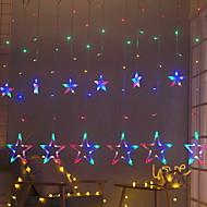 Χαμηλού Κόστους -2,5 μέτρα Φώτα σε Κορδόνι 138 LEDs Πολύχρωμα Διακοσμητικό 220-240 V 1set