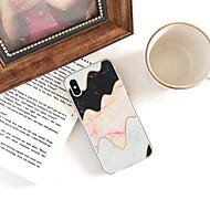 economico -Custodia Per Apple iPhone XR / iPhone XS Max Fantasia / disegno Per retro Effetto marmo Morbido TPU per iPhone XS / iPhone XR / iPhone XS Max
