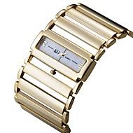 저렴한 -ASJ 여성용 드레스 시계 일본어 일본 쿼츠 실버 / 골드 캐쥬얼 시계 아날로그 사치 미니멀리스트 - 골드 실버 1 년 배터리 수명 / SSUO SR626SW + CR2025