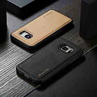 ราคาถูก -WHATIF Case สำหรับ Samsung Galaxy S7 Waterproof / Shockproof / DIY ปกหลัง สีพื้น Hard หนัง PU สำหรับ S7