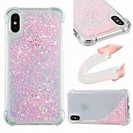 economico -Custodia Per Apple iPhone XR / iPhone XS Max Resistente agli urti / Liquido a cascata / Transparente Per retro Glitterato Morbido TPU per iPhone XS / iPhone XR / iPhone XS Max