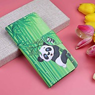 cheap -Case For Huawei P20 Pro / P20 lite Wallet / Card Holder / with Stand Full Body Cases Plants / Panda Hard PU Leather for Huawei P20 / Huawei P20 Pro / Huawei P20 lite
