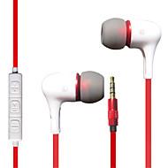 저렴한 -LITBest iBoB300 귀에 유선 헤드폰 이어폰 플라스틱 및 금속 / 실리카 젤 / ABS + PC 모바일폰 이어폰 스포츠 & 아웃도어 / 스테레오 / 볼륨 컨트롤 헤드폰
