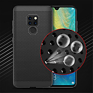 cheap -Case For Huawei Huawei Mate 20 Lite / Huawei Mate 20 Pro Ultra-thin Back Cover Solid Colored Hard PC for Mate 10 / Mate 10 lite / Huawei Mate 20 lite
