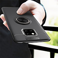 cheap -Case For Huawei Huawei Mate 20 Pro / Huawei Mate 20 Shockproof / Ring Holder / Frosted Back Cover Solid Colored Soft TPU for Mate 10 / Mate 10 pro / Mate 10 lite