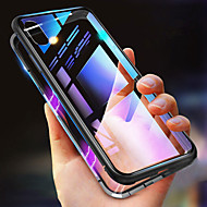 Carcasă Pro Apple iPhone XS / iPhone XS Max Nárazuvzdorné / Průhledné / Magnetické Celý kryt Jednobarevné Pevné Kov pro iPhone XS / iPhone XR / iPhone XS Max