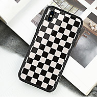 Case Kompatibilitás Apple iPhone X / iPhone XS Minta Héjtok Mértani formák Kemény Akril mert iPhone XS / iPhone XR / iPhone XS Max