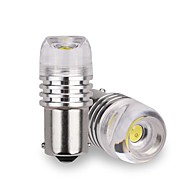 halpa -SENCART 2pcs T20(7440,7443) / BA15S(1156) / BAU15S Moottoripyörä / Auto Lamput 3 W Integroitu LED 180 lm 1 LED Rekisterikilven valo / Suuntavilkku / sisävalot Käyttötarkoitus Universaali / Volkswagen