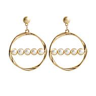 cheap -Women's Stud Earrings Drop Earrings Hoop Earrings Earrings Geometric Classic Jewelry Gold For Daily Formal 1 Pair