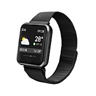 cheap -F68 Smartwatch Android iOS Bluetooth Smart Sports Waterproof Heart Rate Monitor Stopwatch Pedometer Call Reminder Activity Tracker Sleep Tracker