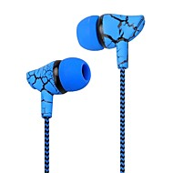 저렴한 -LITBest 귀에 유선 헤드폰 이어폰 스틸 + EVA + TPE 모바일폰 이어폰 줄무늬 / 잔물결 / 스포츠 & 아웃도어 / 멋진 헤드폰