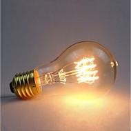 cheap -1pc 40 W E26 / E27 Yellow Transparent Body Incandescent Vintage Edison Light Bulb 220-240 V