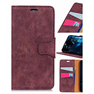 cheap -Nillkin Case For Xiaomi Mi 8 / Xiaomi Redmi Note 7 Wallet / Card Holder / Shockproof Full Body Cases Solid Colored Hard PU Leather for Xiaomi Redmi Note 5 Pro / Xiaomi Pocophone F1 / Xiaomi Mi Play
