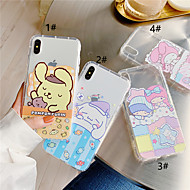 abordables -Funda Para Apple iPhone XR / iPhone XS Max Transparente Funda Trasera Animal / Caricatura Suave TPU para iPhone XS / iPhone XR / iPhone XS Max