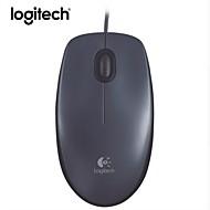 abordables -logitech m90 corded mouse - souris USB filaire pour ordinateurs et ordinateurs portables, pour utilisation à droite ou à gauche