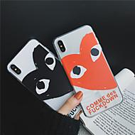 tanie -Kılıf Na Jabłko iPhone XR / iPhone XS Max Transparentny / Wzór Osłona tylna Serce Miękka TPU na iPhone XS / iPhone XR / iPhone XS Max