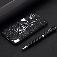 baratos -Capinha Para Apple iPhone XR / iPhone XS Max Áspero / Estampada Capa traseira céu Macia TPU para iPhone XS / iPhone XR / iPhone XS Max