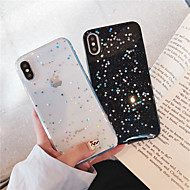 economico -custodia per apple iphone xr / iphone xs max glitter brillare / copertina posteriore glitter shine soft tpu per iphone x / xs / 6/6 plus / 6s / 6s plus / 7/7 plus / 8/8 plus
