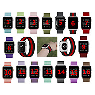 Παρακολουθήστε Band για Apple Watch Series 4/3/2/1 Apple Αθλητικό Μπρασελέ / Μιλανέζικη Πλέξη Ανοξείδωτο Ατσάλι Λουράκι Καρπού