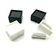 Χαμηλού Κόστους -Κυβικό Κουτάκια Κοσμημάτων - Μαύρο, Λευκό 3 cm 3 cm 2 cm / 4pcs