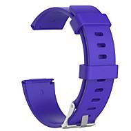 Χαμηλού Κόστους -Παρακολουθήστε Band για Fitbit Versa / Fitbit Versa Lite Fitbit Αθλητικό Μπρασελέ σιλικόνη Λουράκι Καρπού
