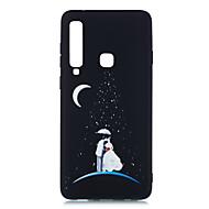 baratos -Capinha Para Samsung Galaxy A7 (2018) / Galaxy A9(2018) Áspero / Estampada Capa traseira Cenário Macia TPU para A5(2018) / A6 (2018) / A6+ (2018)