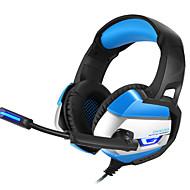 levne -LITBest Sluchátka a headset Kabel Sluchátka sluchátka Koženka / ABS Resin / Kov Hraní her Sluchátko Sluchátka