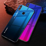 غطاء من أجل Huawei Huawei Honor 8X / Huawei Honor 8X Max ضد الصدمات غطاء خلفي لون متغاير قاسي TPU / زجاج مقوى إلى Huawei Note 10 / Huawei Honor 10 / الشرف V20