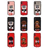 رخيصةأون -غطاء من أجل Apple iPhone XR / iPhone XS Max نموذج غطاء خلفي حيوان / كارتون ناعم TPU إلى iPhone XS / iPhone XR / iPhone XS Max