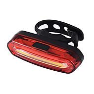 billige -LED Cykellys Baglygte til cykel sikkerhedslys baglygter XP-G2 Bjerg Cykling Cykling Vandtæt Bærbar Nem at montere Li-polymer 100 lm Genopladeligt Batteri Hvid Rød Camping / Vandring / Grotte