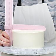 billige -1pc Plast Justerbar Kreativ Kjøkken Gadget Kake Baking & Konditor Spatler Bakeware verktøy
