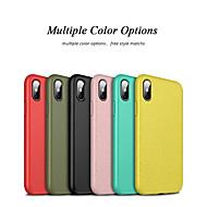tanie -Kılıf Na Jabłko iPhone XS / iPhone XR Odporny na wstrząsy / Odporne na kurz Pełne etui Solidne kolory Miękka TPU na iPhone XS / iPhone XR / iPhone XS Max