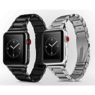 حزام إلى Apple Watch Series 4/3/2/1 Apple بكلة عصرية معدن شريط المعصم