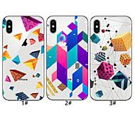 tanie -Kılıf Na Jabłko iPhone XR / iPhone XS Max Wzór Osłona tylna Wzór geometryczny Miękka TPU na iPhone XS / iPhone XR / iPhone XS Max