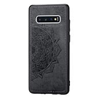 Χαμηλού Κόστους -tok Για Samsung Galaxy Galaxy S10 Plus Ανθεκτική σε πτώσεις / Προστασία από τη σκόνη / Με σχέδια Πλήρης Θήκη Τοπίο / Γεωμετρικά σχήματα Μαλακή PU δέρμα για Galaxy S10 Plus