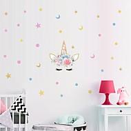 זול -1pc unicorn מדבקה קיר קישוט גרפיטי קיר מדבקה עבור מדבקות קיר הבית של הילדים