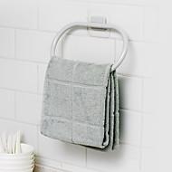 economico -Portasciugamani a muro Auto-adesivo Modern Plastica 1pc - Bagno anello asciugamano Montaggio su parete