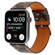 abordables -bracelet montre pour apple series series 4/3/2/1 apple boucle classique bracelet en cuir veritable