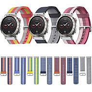 billige -Klokkerem til Fenix Chronos Garmin Sportsrem Stoff / Nylon Håndleddsrem
