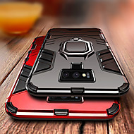 Case For Samsung Galaxy Galaxy S10 / Galaxy S10 Plus / Galaxy S10 E Shockproof / Ring Holder Back Cover Armor Hard PC for S9 / S9 Plus / S8 Plus