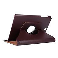 お買い得  -ケース 用途 Samsung Galaxy Tab A 9.7 360°ローテーション / 耐衝撃 / スタンド付き フルボディーケース ソリッド ハード PUレザー